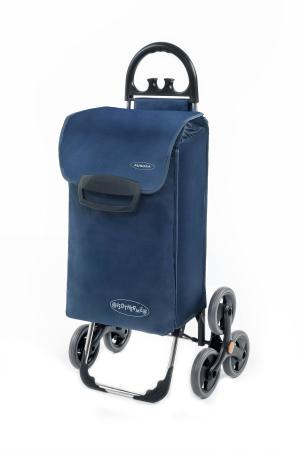 Nákupní taška na klečkách s termokapsou Iskia modrá
