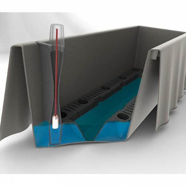 Samozavlažovací truhlík Brezza, 50 cm