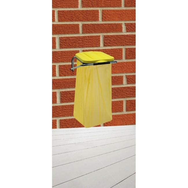 Držák na odpadkové pytle na zeď