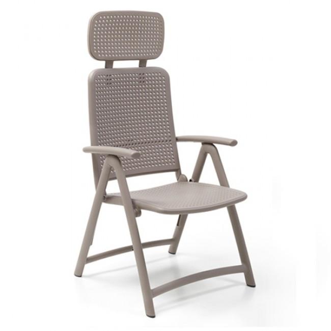Židle Acquamarina s podhlavníkem