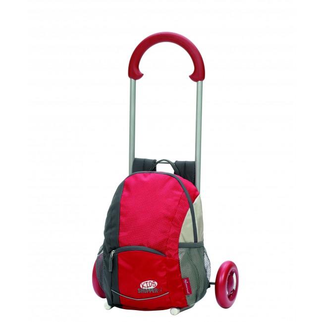 Dětský batoh s kolečky i s popruhy na záda