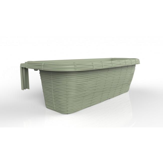 Závěsný truhlík Rondine Paglia 60 cm