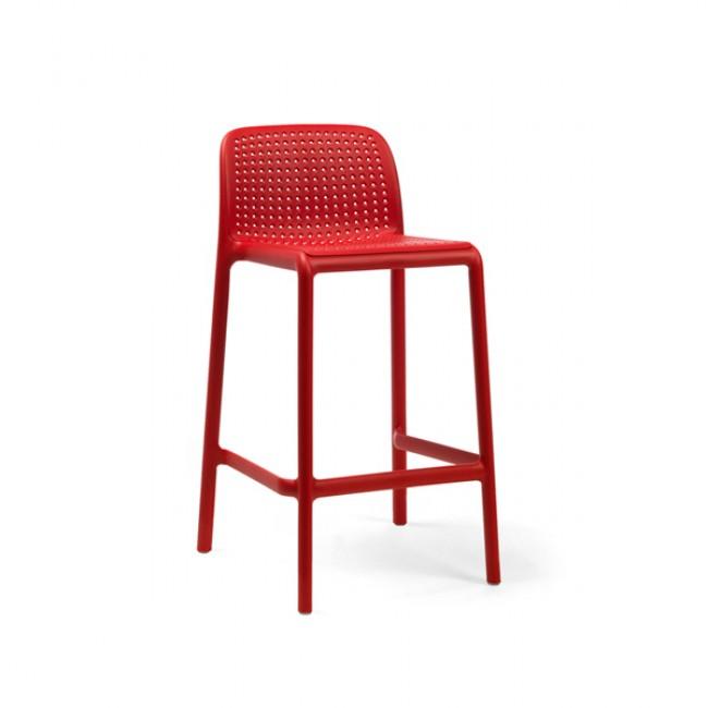 Barová židle Lido Mini červená