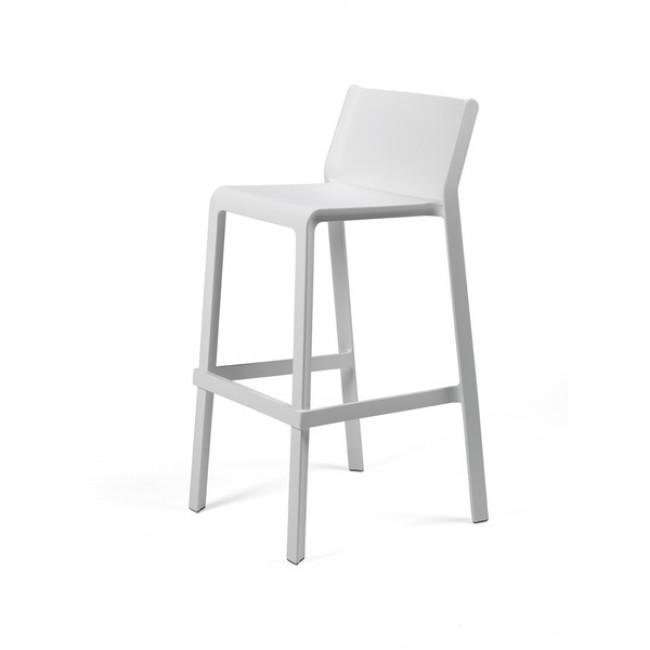 Barová židle Trill Bílá