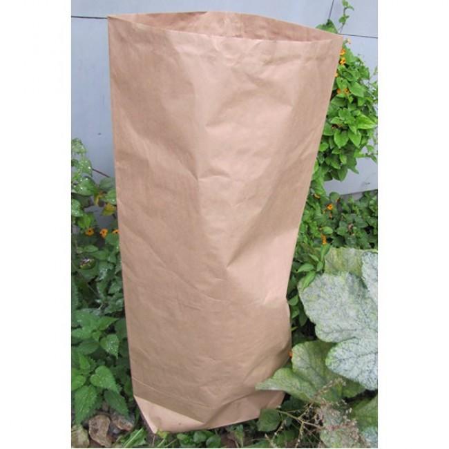 Kraft-papírový pytel na zahradní odpad, 90 litrů