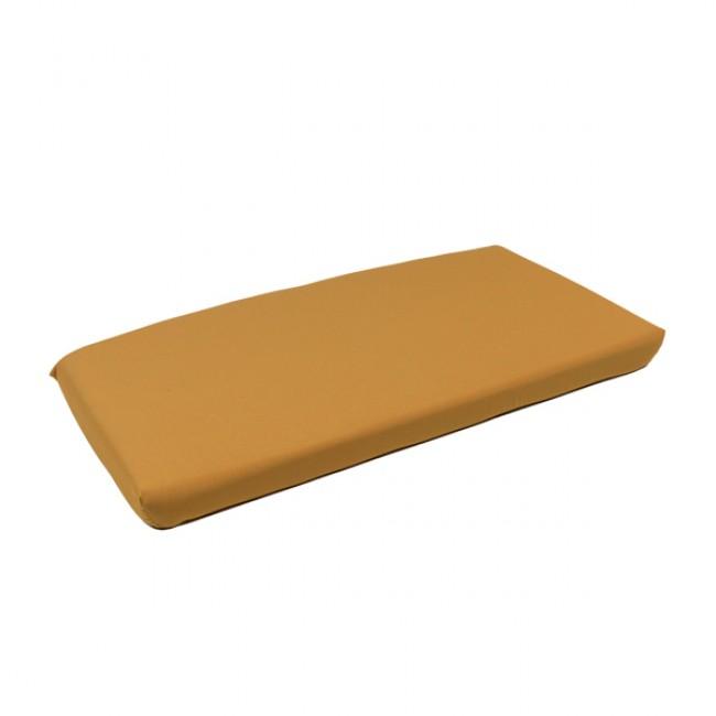 Polstr na lavici Net bench senape