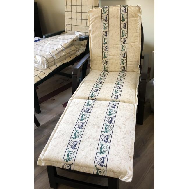 Textilní polstr na lehátko Provenza