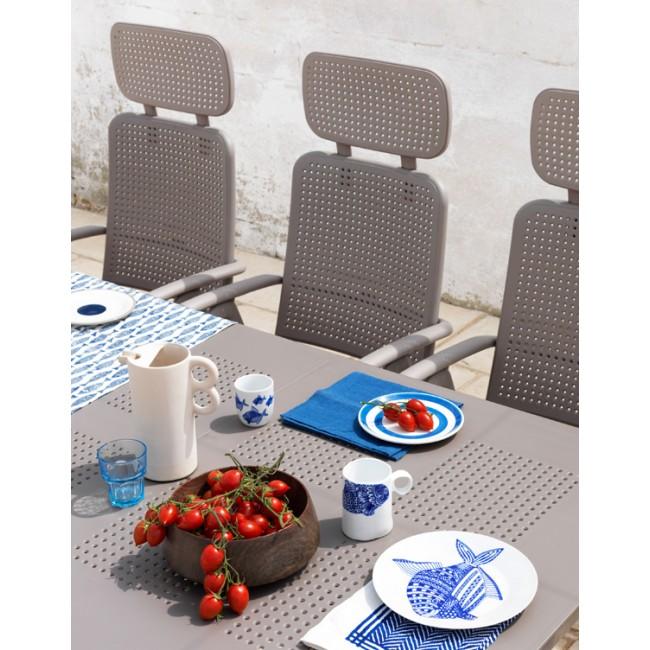 Zahradní rozkládací stůl Levante 160-220 cm