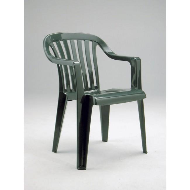 Zahradní židle Luna zelená