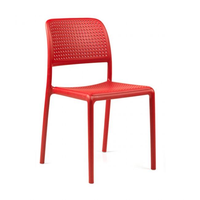Zahradní židle Bora Bistrot red