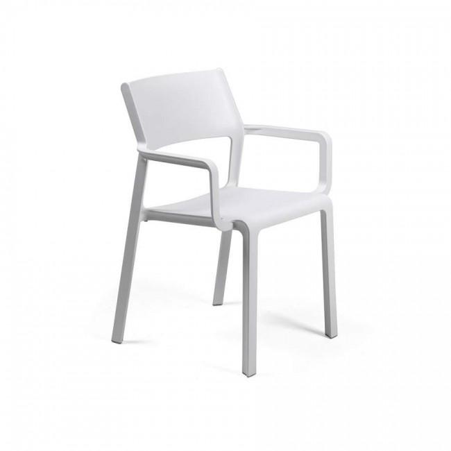 Židle Trill armchair bílá
