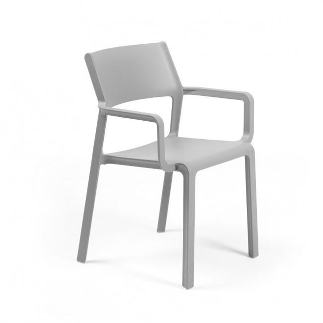 Židle Trill armchair šedá