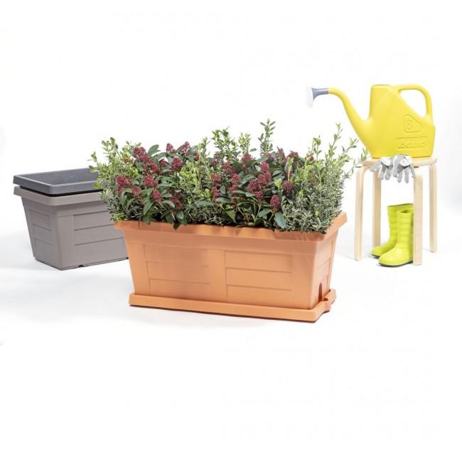 Zahradní truhlík Legno TERRACOTTA