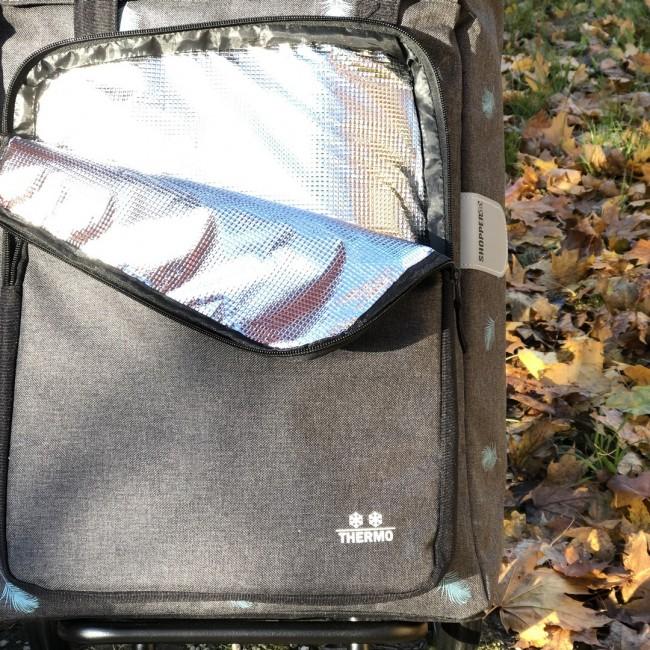Nákupní taška Royal Ivar, 3 kolečka