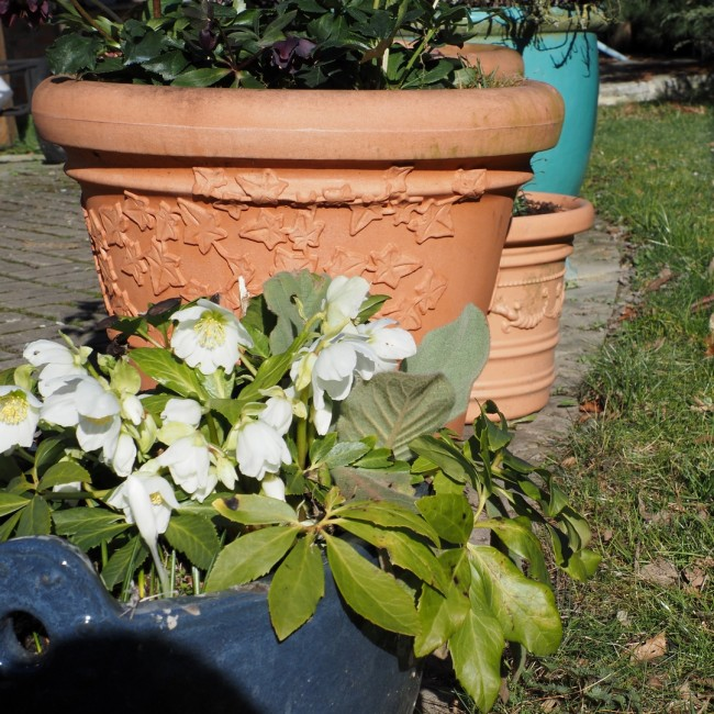 Venkovní květináč Vite kulatý