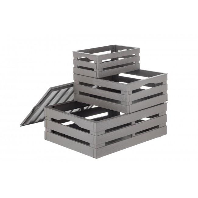 3 krabice a víko - Tina
