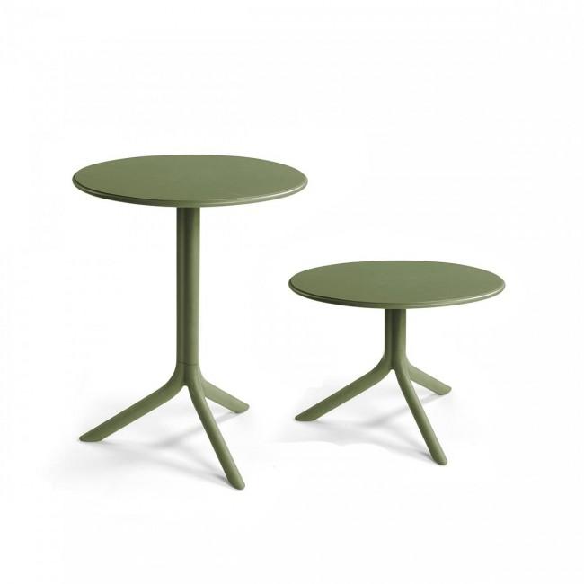 Plastový stůl Spritz 2v1 kulatý, 60.5 cm