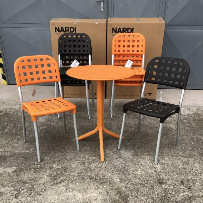 Jídelní židle Alaska bez područek