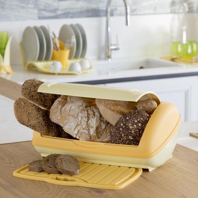 Chlebovka s podložkou žlutá