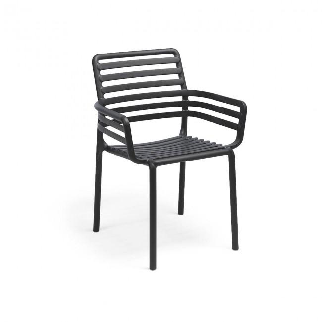 Židle Doga Armchair antracit