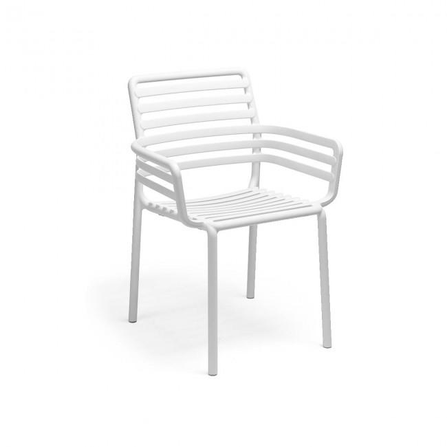 Židle Doga Armchair bianco