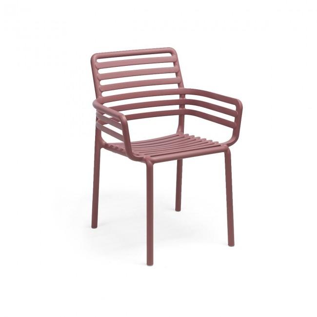 Židle Doga Armchair marsala