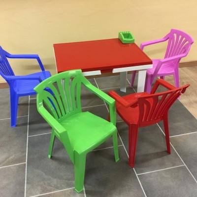 Dětský nábytek na zahradu