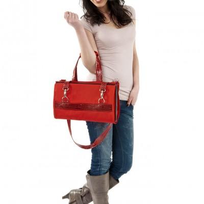 Skládací nákupní taška s kolečky
