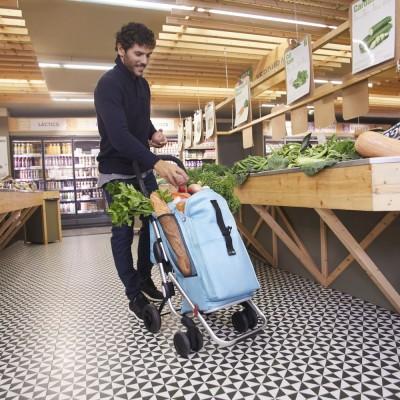 Nákupní taška se 6 kolečky Go Plus Playmarket