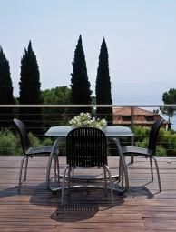 Zahradní sestava židle Ninfea a stůl Loto