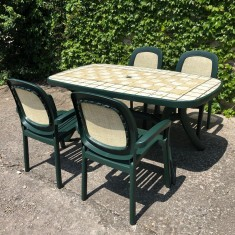Zahradní sestava Beta a stůl Toscana