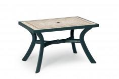Stůl Toscana Ravenna 120x80 zelený